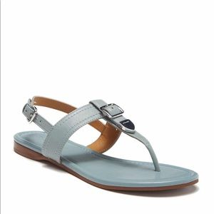 Coach Cassidy leather sandals